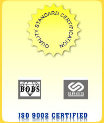 QUALITY STANDARD CERTIFICATION